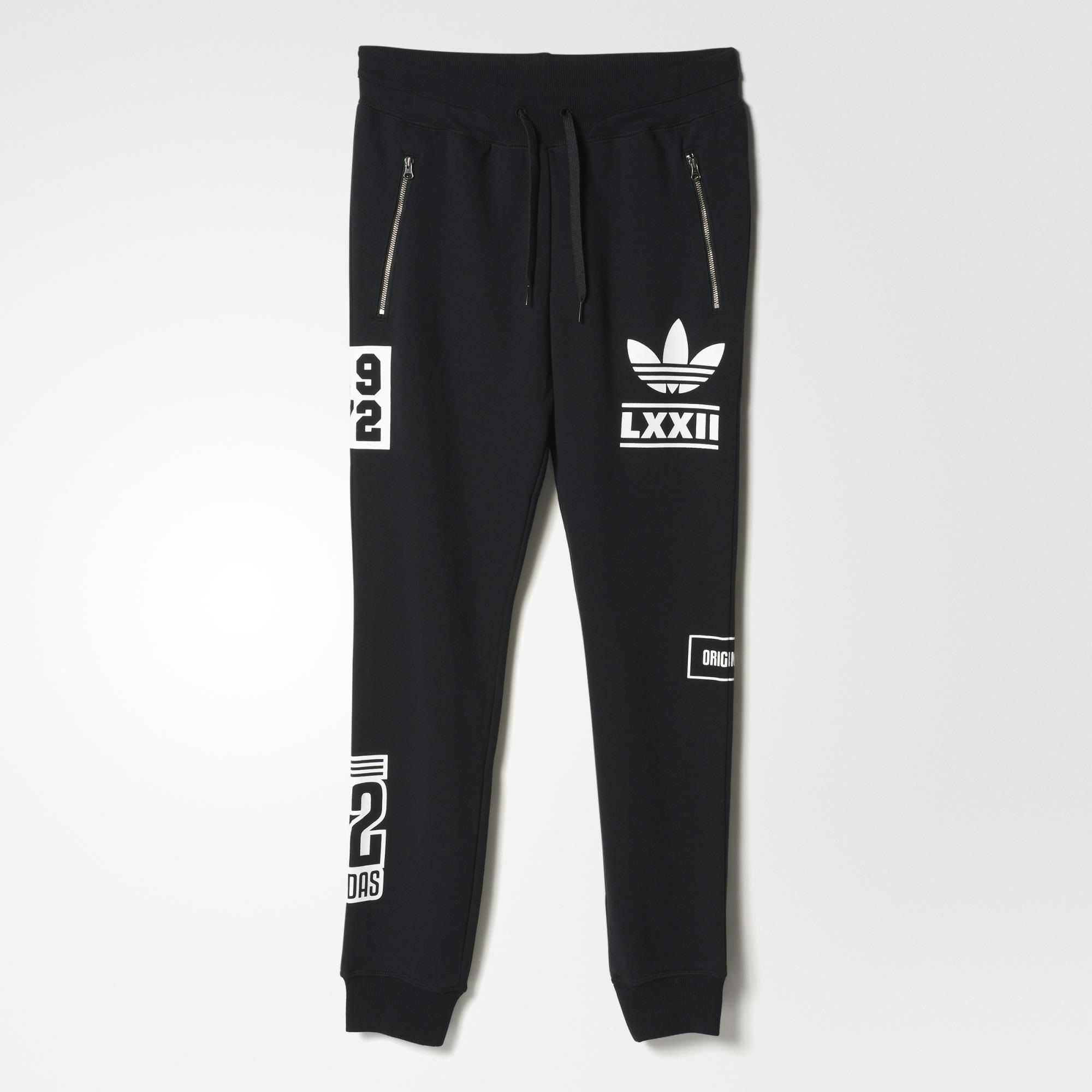 9f88a5b5436b0 adidas Berlin Slim Fit Track Pants - Black