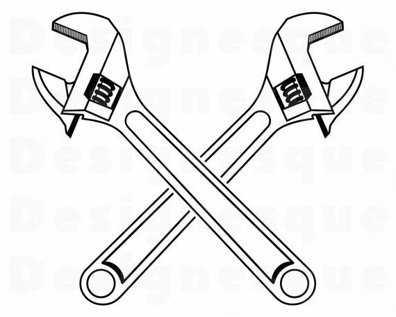 22++ Pipe wrench clip art black and white info