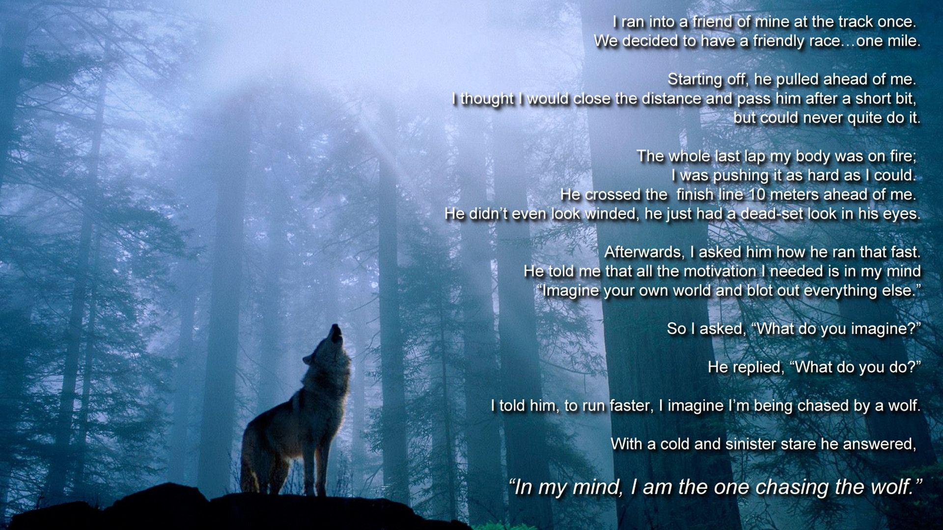 Inspirational Quotes About Wolf