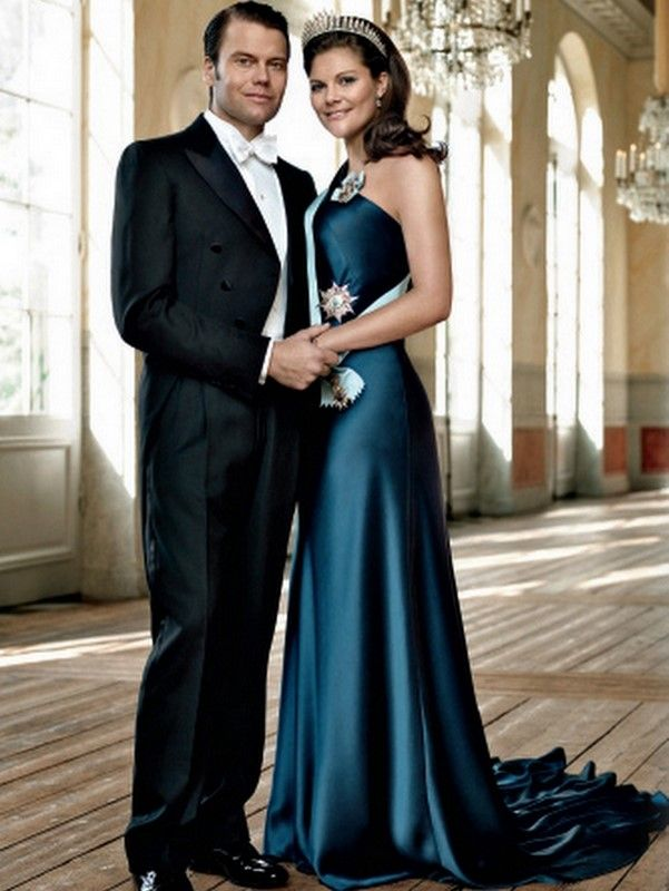 Crown Princess Victoria with Prince Daniel - He looks so much ...