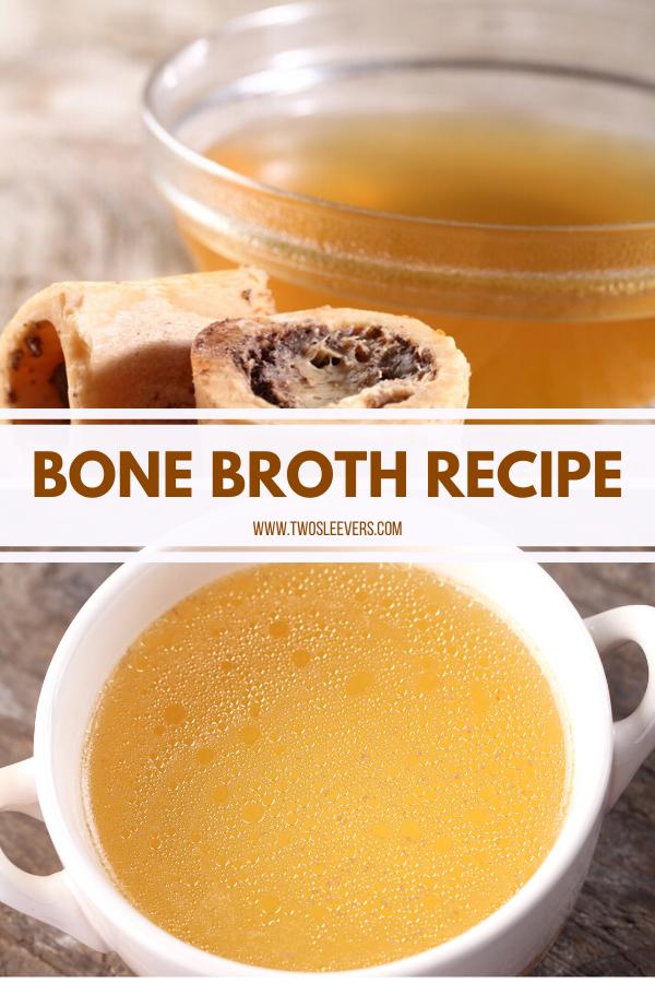Easy Homemade Bone Broth Recipe #bonebrothrecipe