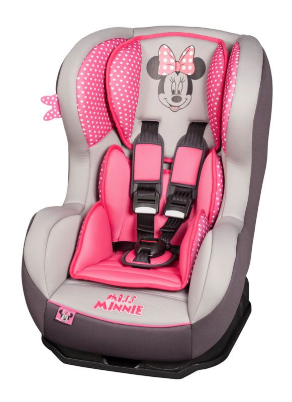 Disney Minnie Mouse Pink Cosmo SP Baby Toddler Reclining Car Seat 0 4 Yrs