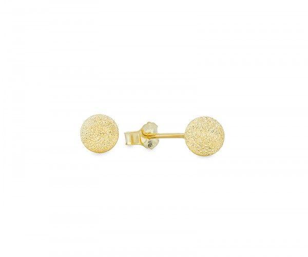 Ohrstecker aus Sterling Silber, vergoldet / Gold plated sterling silver stud earrings