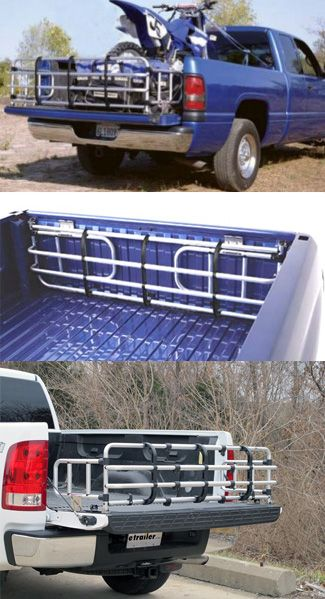 Fold Down Truck Bed Extender - compatible with the Ford F-150, use the extender to transport wood, pipes and other materials.