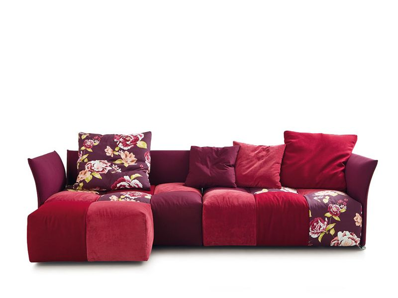 Modular Upholstered Sofa Pixel By Saba Italia Design