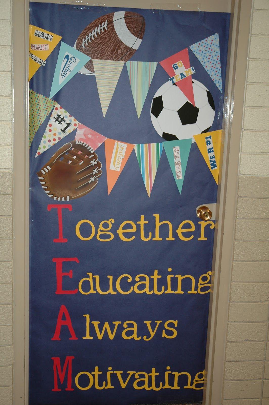 Teacher Appreciation Door Decorating Ideas | Room mom ...