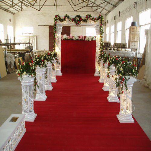 Pillars For Weddings Altar Decorations: Crystal Decoration Crystal