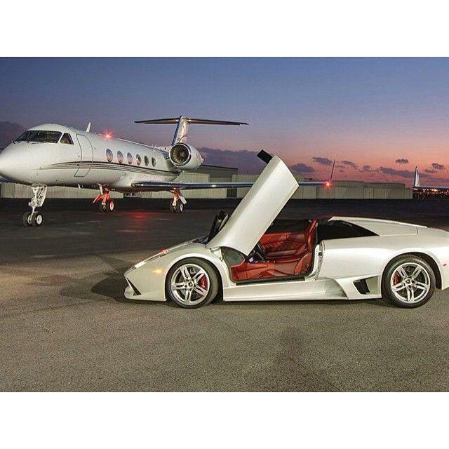 Valentines Day Trip-Lamborghini & Matching Private Jet