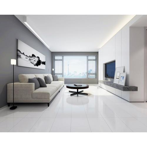 Artic White Porcelain Tile - 12 x 24 - 100566736   Floor ...