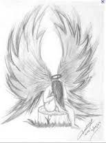 Resultado De Imagen Para Angeles A Lapiz Drawings Tumblr Drawings Angel Art