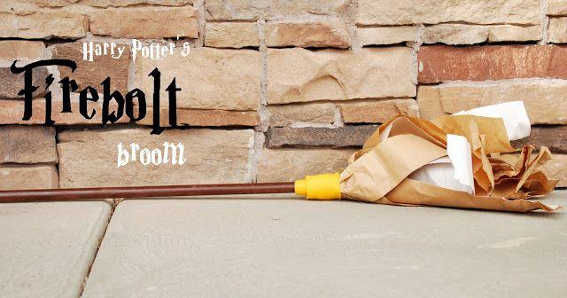 how to make a firebolt broom