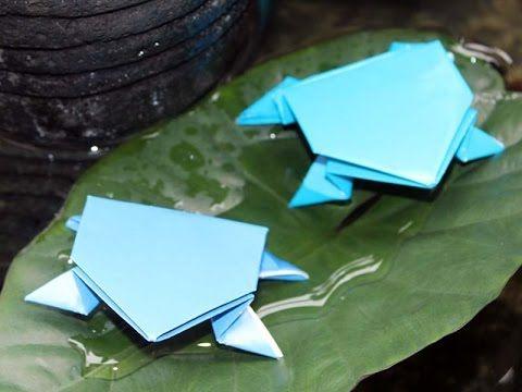Origami Katak Bangkong Origami Pinterest Origami