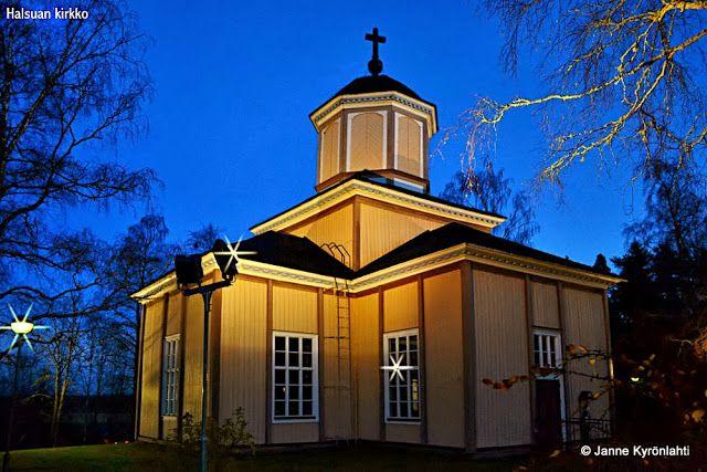 Halsua church.