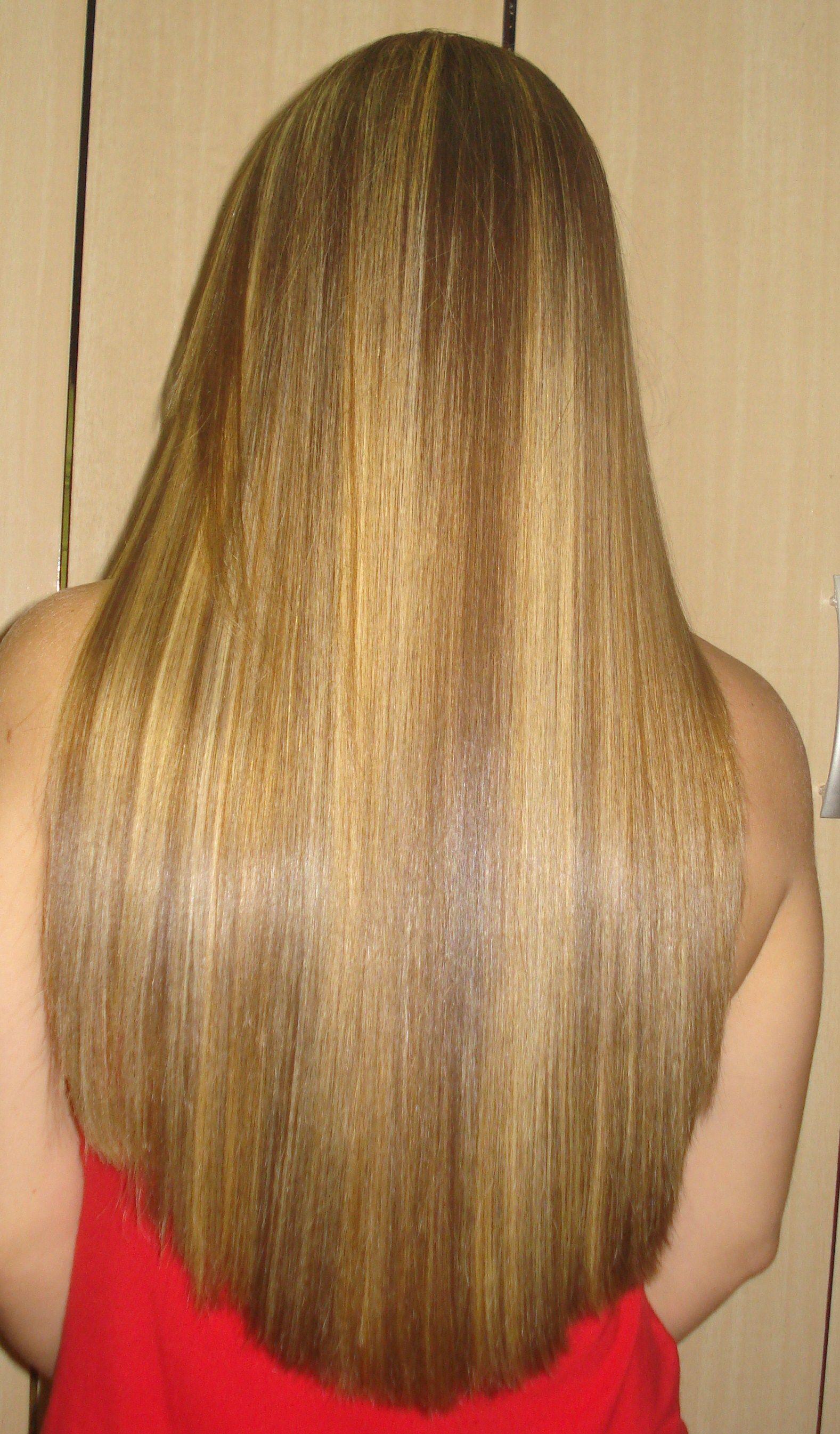 Peanut Butter Shake Hair Pinterest
