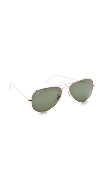 Ray-Ban Polarized Aviator Sunglasses cc897a07c1