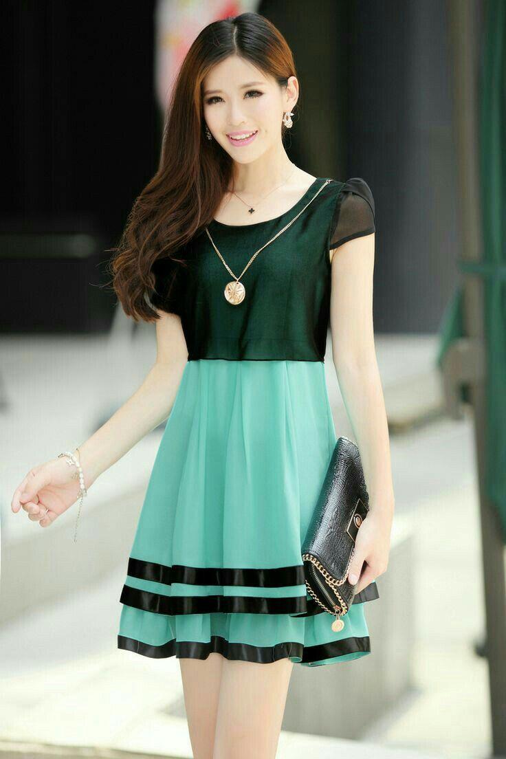 Resultado de imagen para vestidos juveniles en pinterest | vestidos ...