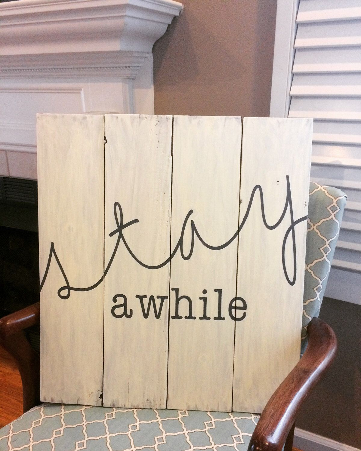 Guest Room Sign Decor Fair Stay Awhile Wood Sign Guest Room Sign Living Room Decor Home Review