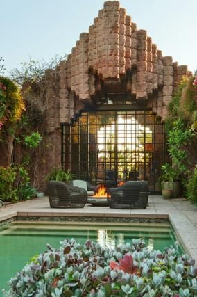 Frank Lloyd Wright Architecature In Los Angeles Jr Mansion Event