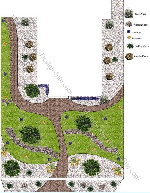 desert southwest front yard xeriscaping idea this yard design is