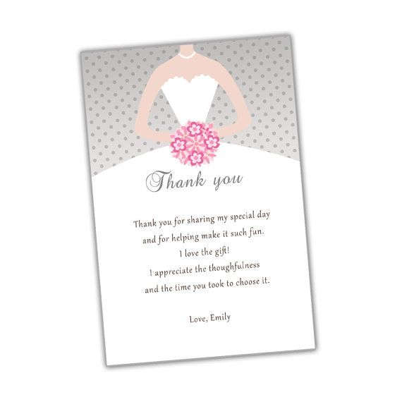 Thank You Quotes For Bridal Shower
