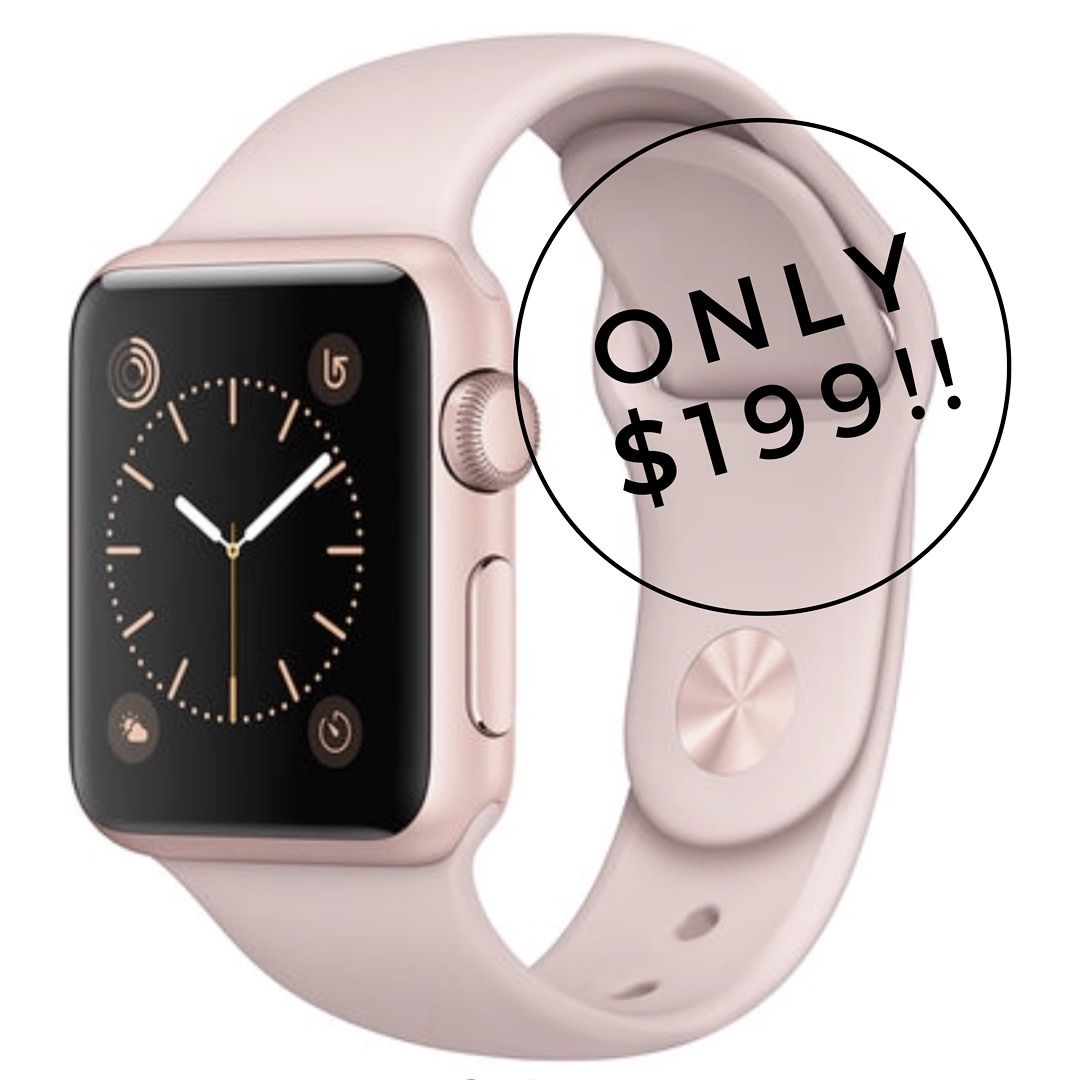 Sale alert! 🎊 macys has the Apple Watch on sale for only