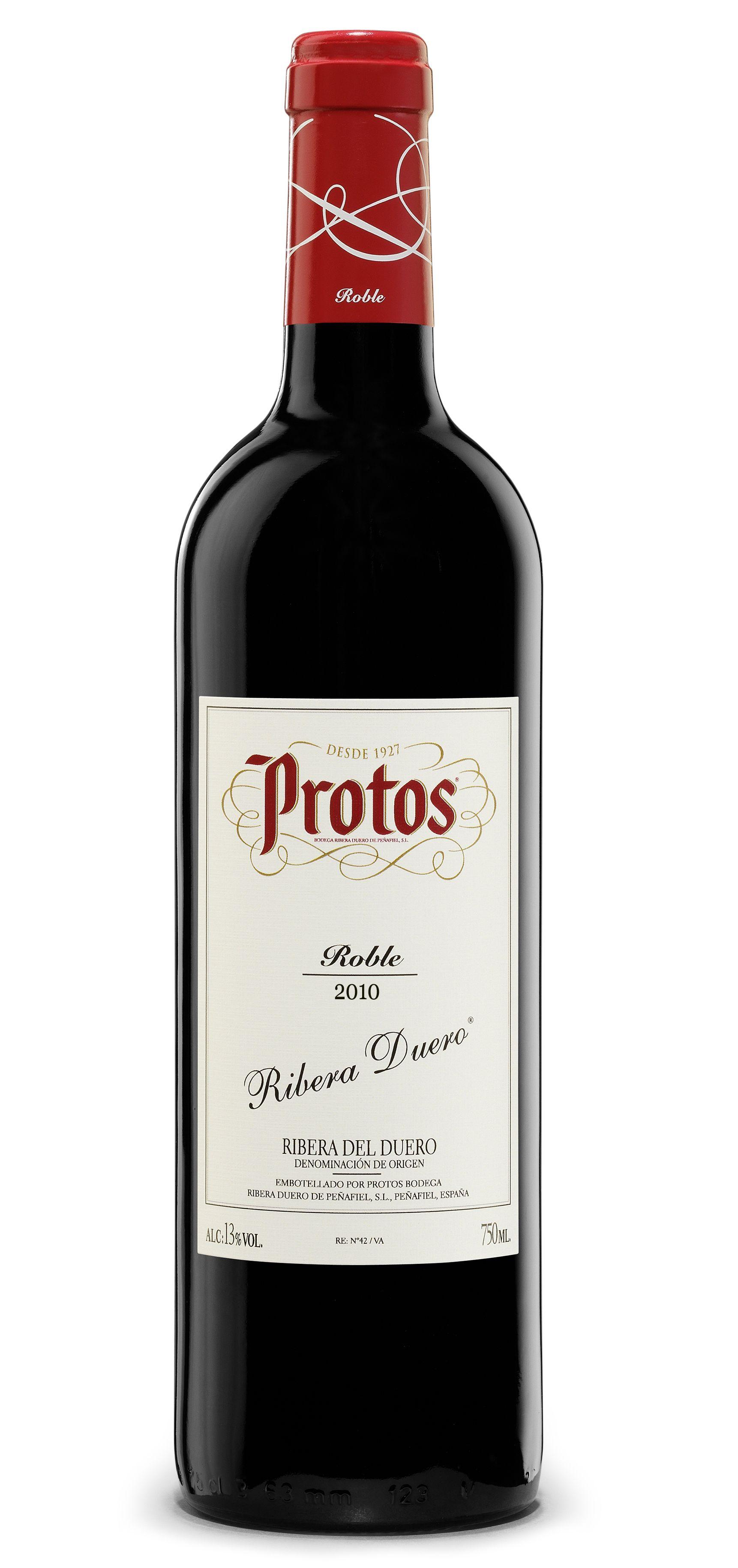 Protos Roble 2010 wine spain vinos maximum