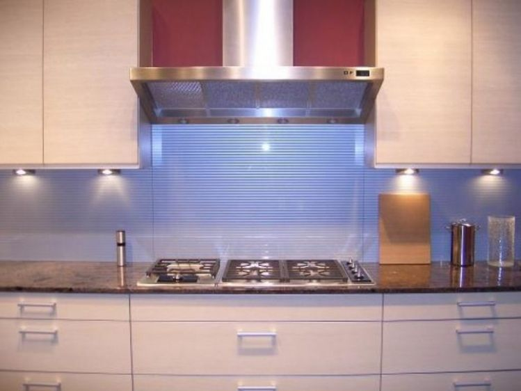 Modern Glass Tile Backsplash Yellow Kitchen Tiles Discount