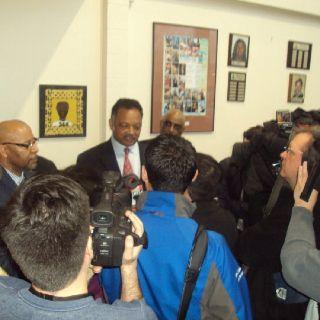 Press Conf w/ Rev Jesse Jackson Sr