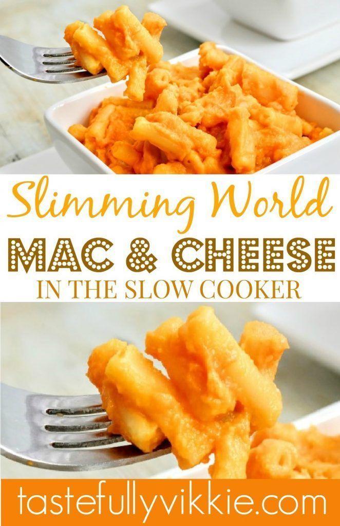 1.5 Syn Slimming World Slow Cooker Makkaroni-Käse – Geschmackvoll Vikkie  – Food