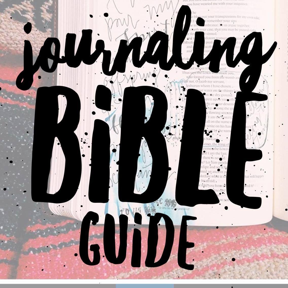 Journaling Bible Guide