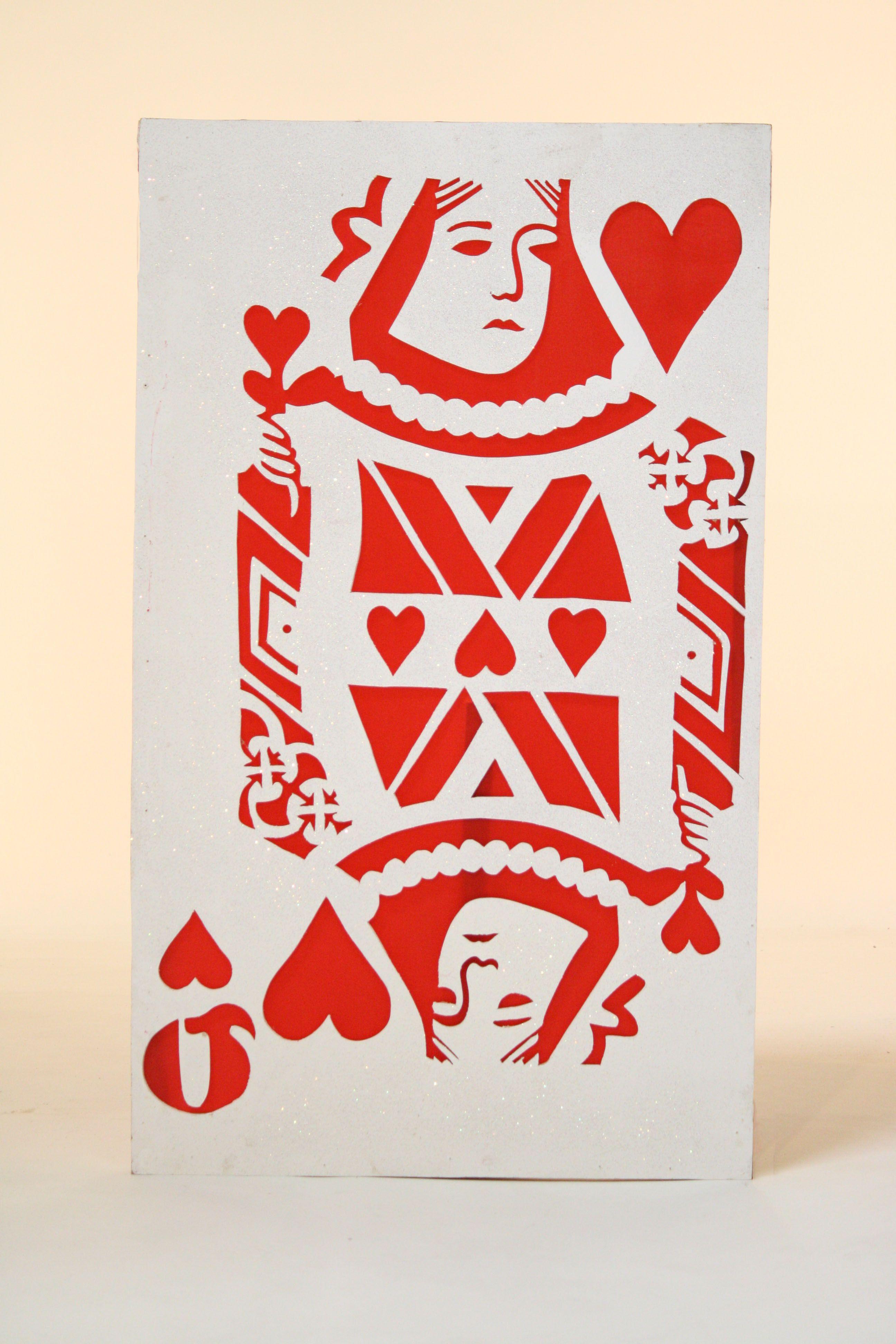 Photo prop idea queenofhearts queen of hearts card