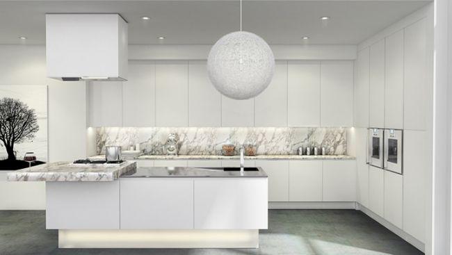 Küchenrückwand Mediterran ~ Küchenrückwand marmor moderne designer küche miton einrichten