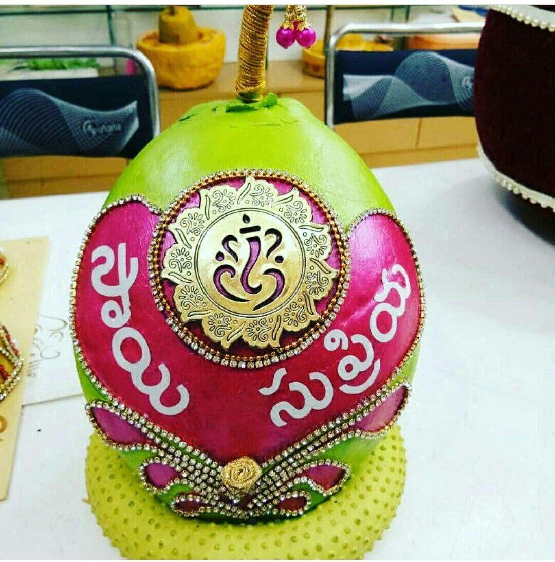 Pin by SANVI sai on Dry coconut design | Wedding decorations