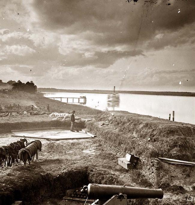Civil War - Fort McAllister on the Ogeechee River