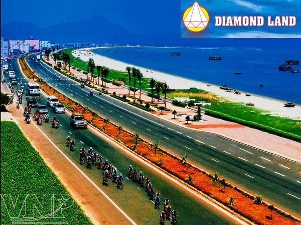 Kẹt tiền bán gấp 4 lô đất MT đường biển Nguyễn Tất Thành,Đà Nẵng 20×23,xây cao 17 tầng