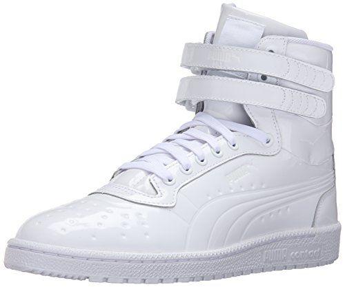 3ec68e99e06d PUMA Men s Sky Ii Hi Patent Emboss Fashion Sneaker
