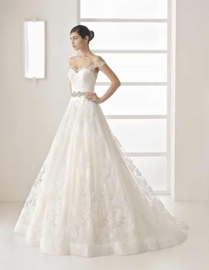 vestidos de novia con encaje: 100 modelos únicos | vestidos de novia