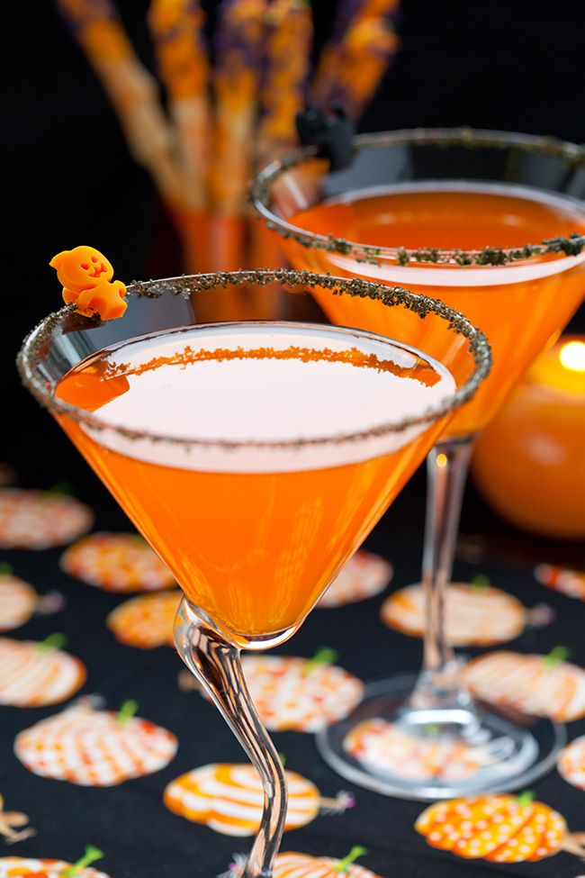 smashing pumpkintini other ghoulish halloween cocktail ideas