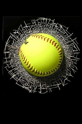 Softball iPhone Wallpapers/iPhone Backgrounds/iPod touch