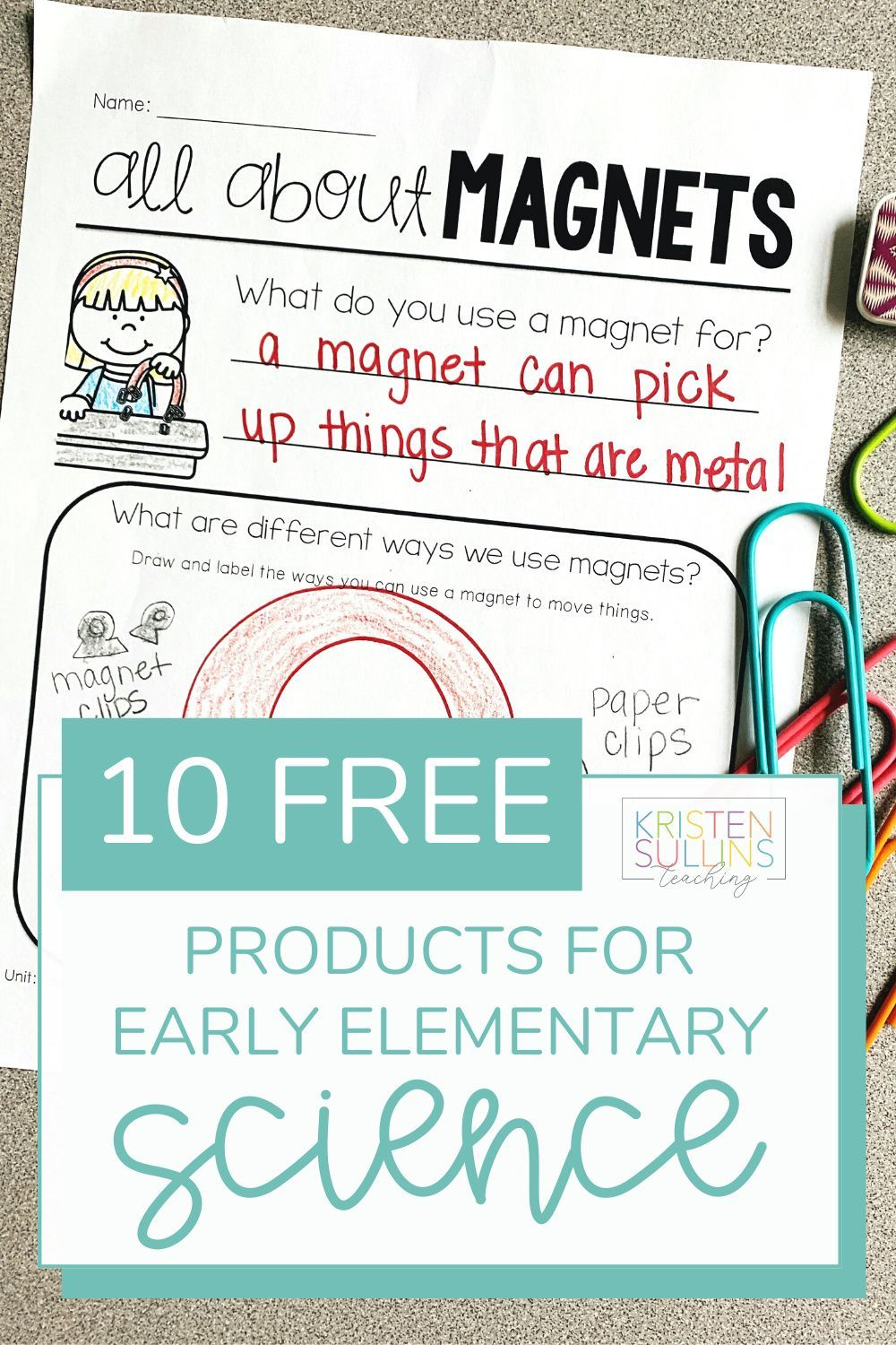 Free Science Worksheets For Elementary In 2021 Free Science Worksheets Back To School Teacher Teacher Help