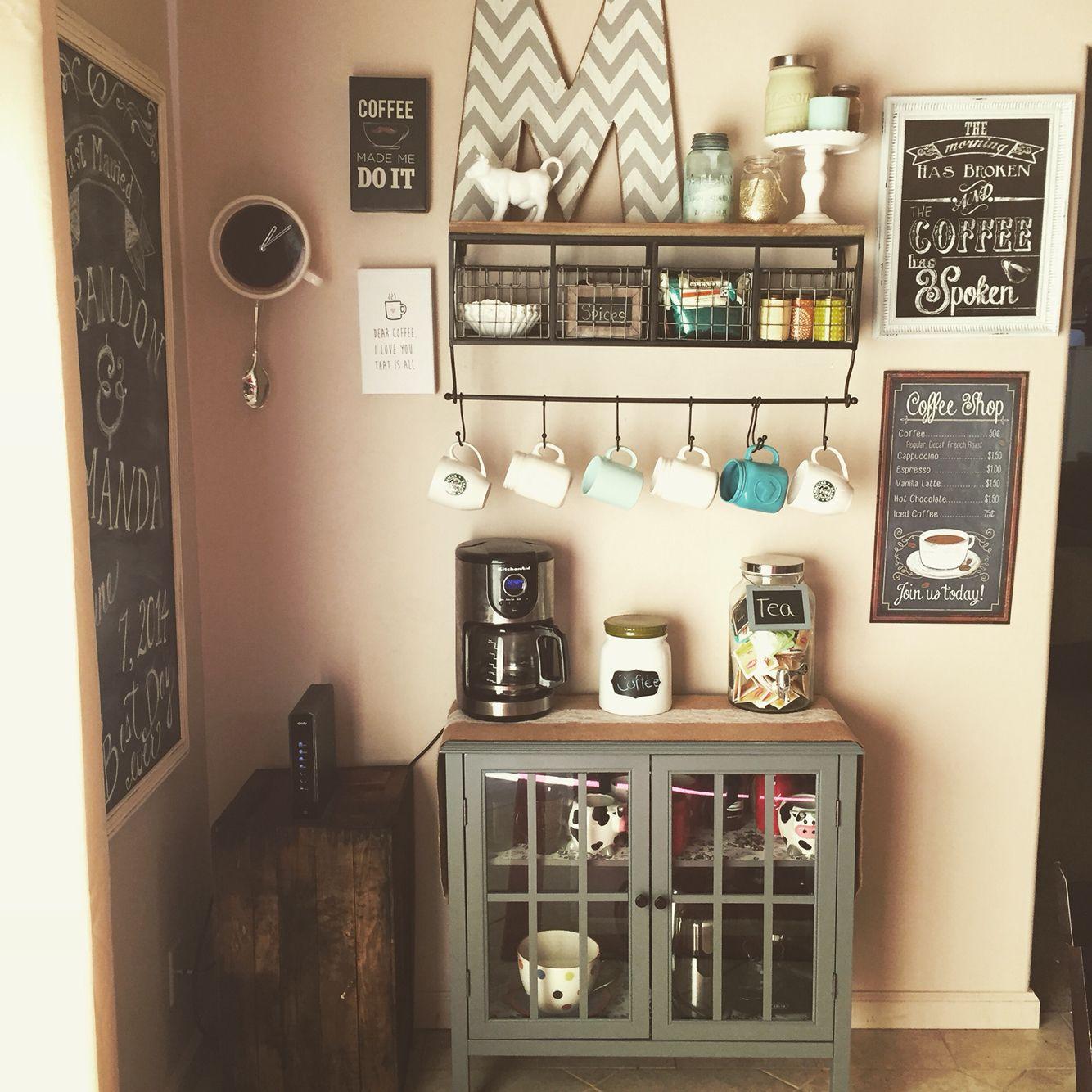 Coffee Bar Mug Shelf Holder From Hobby Lobby 120 Buy On