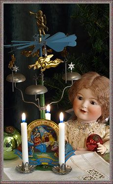 German Angel Chimes 13 Quot Christmas Angel Candle Chimes