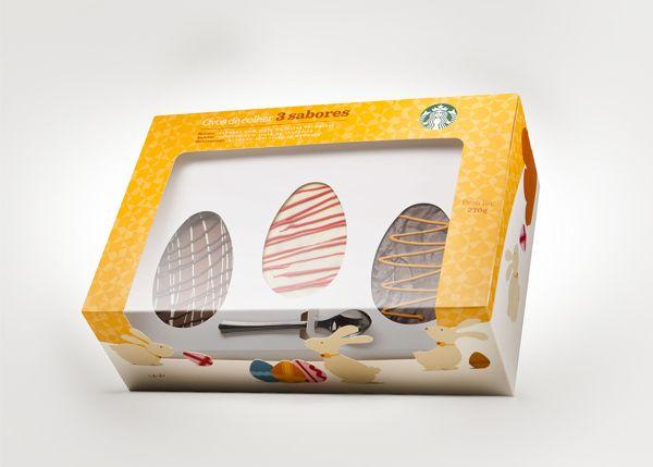 Starbucks - Embalagem Pascoa on Behance