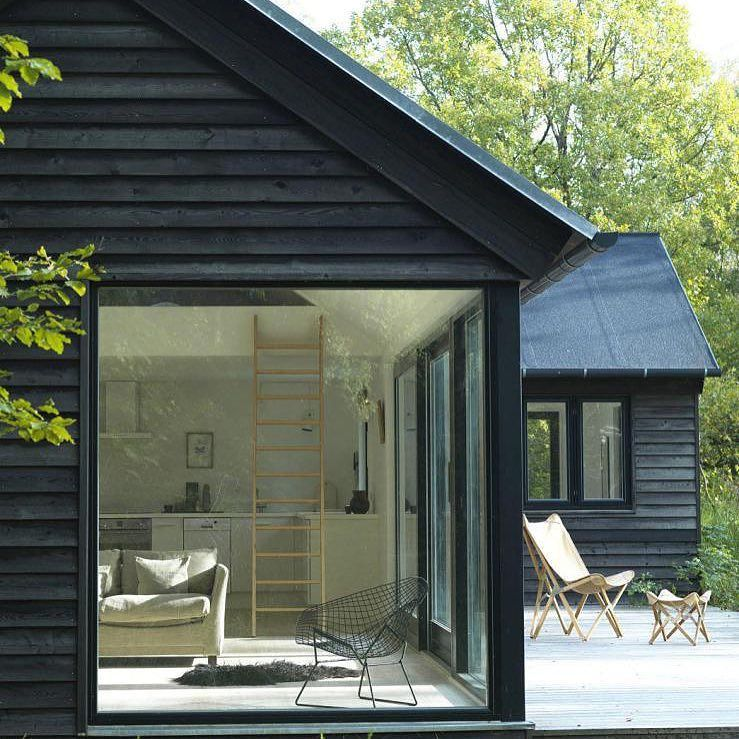 Smallhouse Exterior Ideas: Dreaming About Building A Charcoal Cottage. Like The