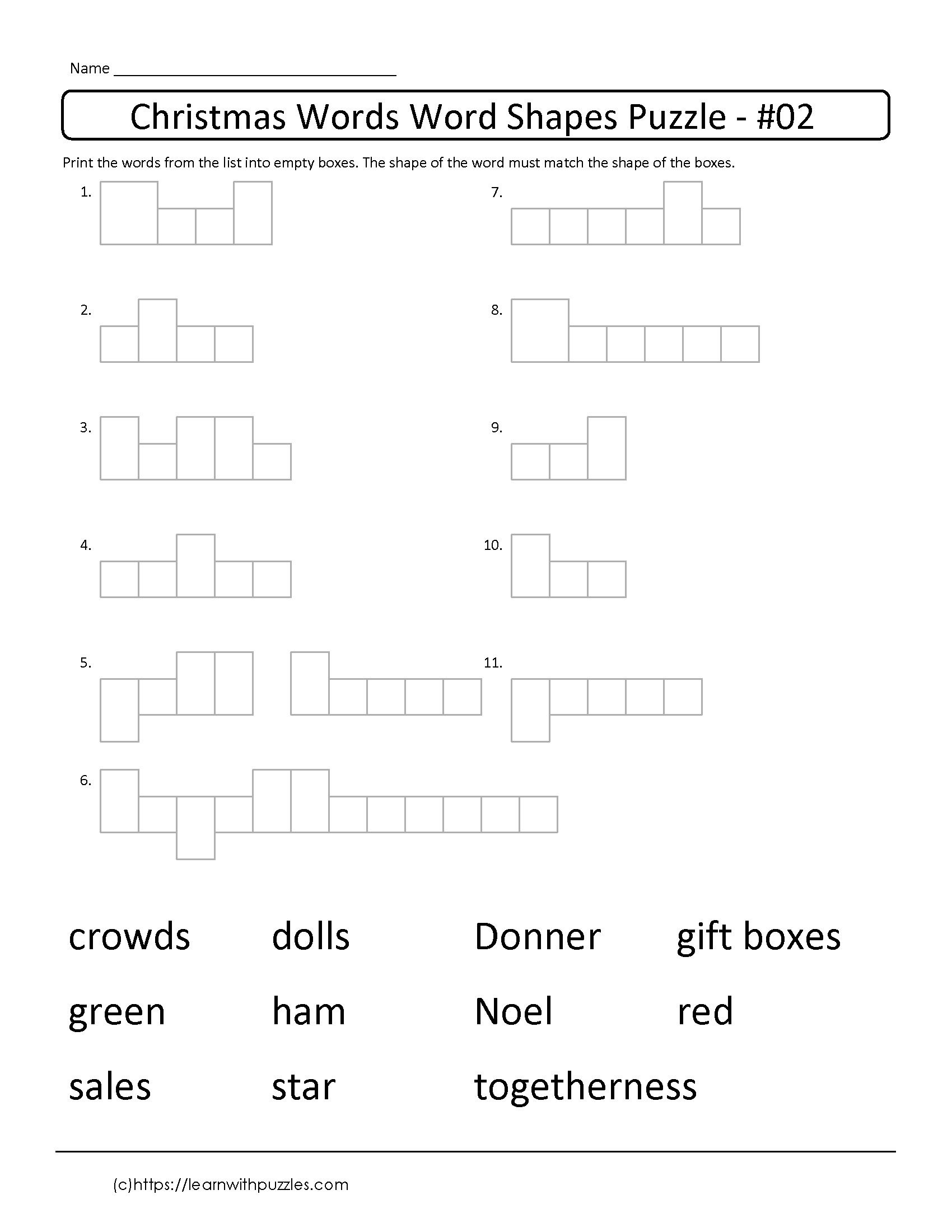 Freebie Brain Teaser Supports Visual Acuity As Students