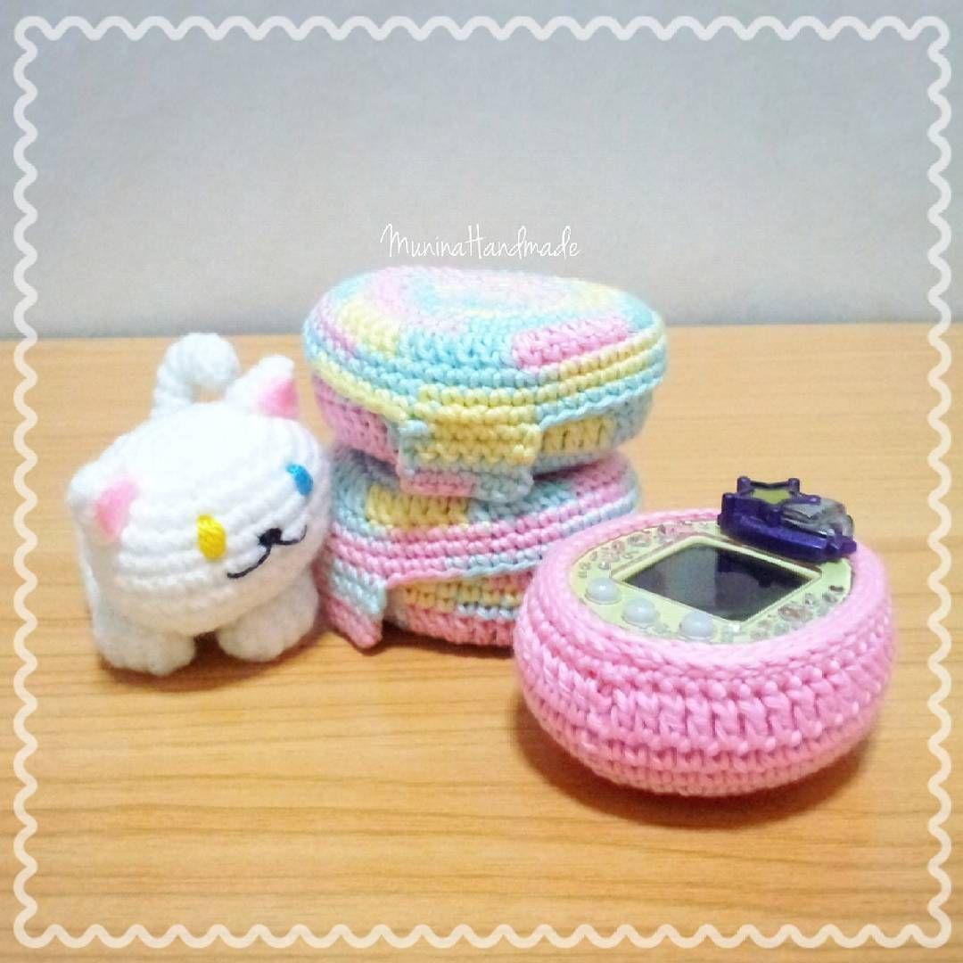 Tamagotchi Crochet Cover