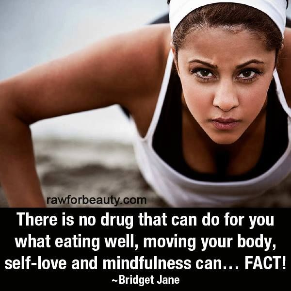 There is no drug that can accomplish complete wellness! You have the power with making good choices!