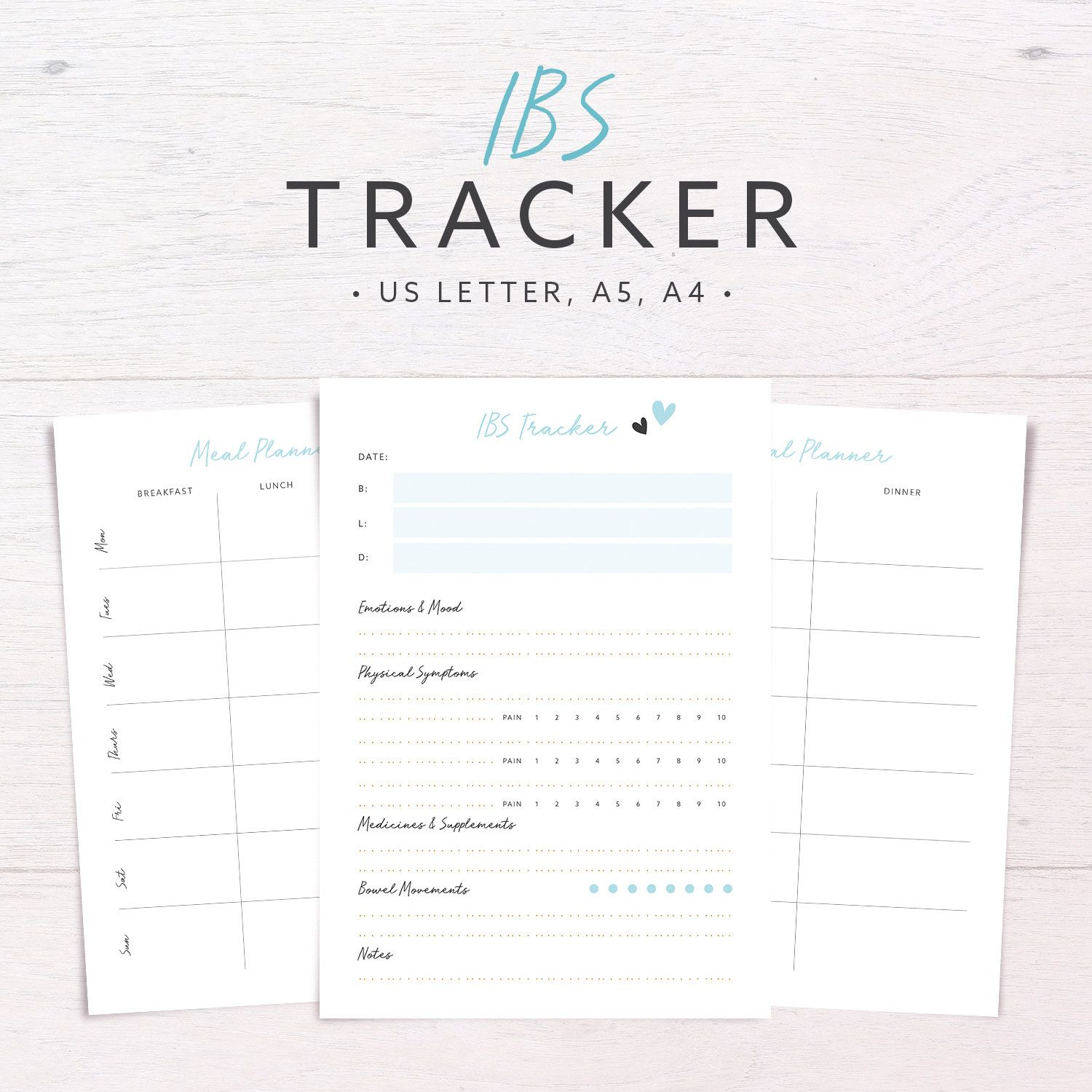Pin On Life Health Journal Tracker