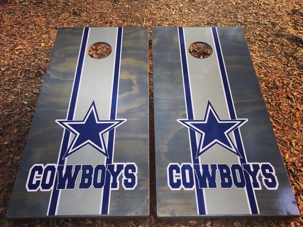 Dallas Cowboys Set With Bean Bags By Blake