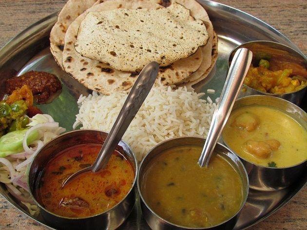 Bihari Dishes - Bihari Thali - Patna Diaries